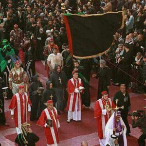 Christians in Arbaeen