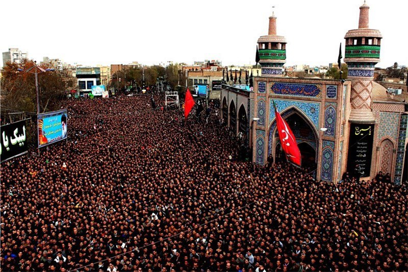Mourning ceremony for Imam Hussain in Iran October2015
