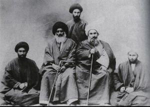 Sheikh Fazl-Allah Nouri and Ayatollah Sayyed Muhammad Behbahani