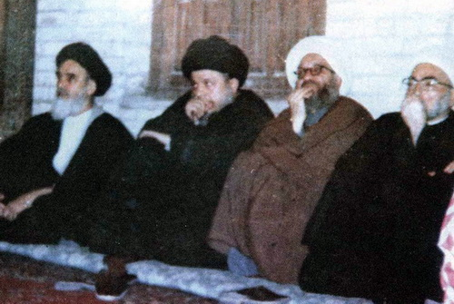 Martyr Sadr & Imam Khomeini