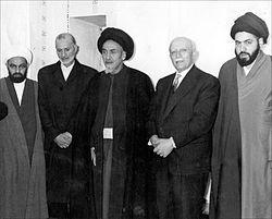 Ayatollah Waez-Zadeh alongside with Ayatollah Sayyid Muhammad Hadi Milani