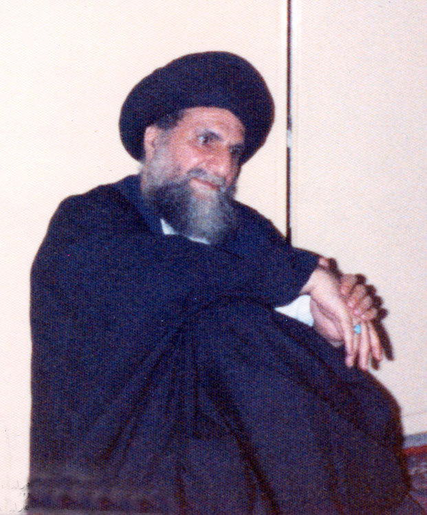 Ayatollah Qomi in His Middle Age