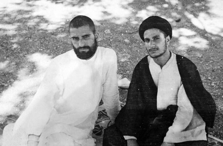 Ayatollah Qomi & his brother ayatollah Baqir Qomi