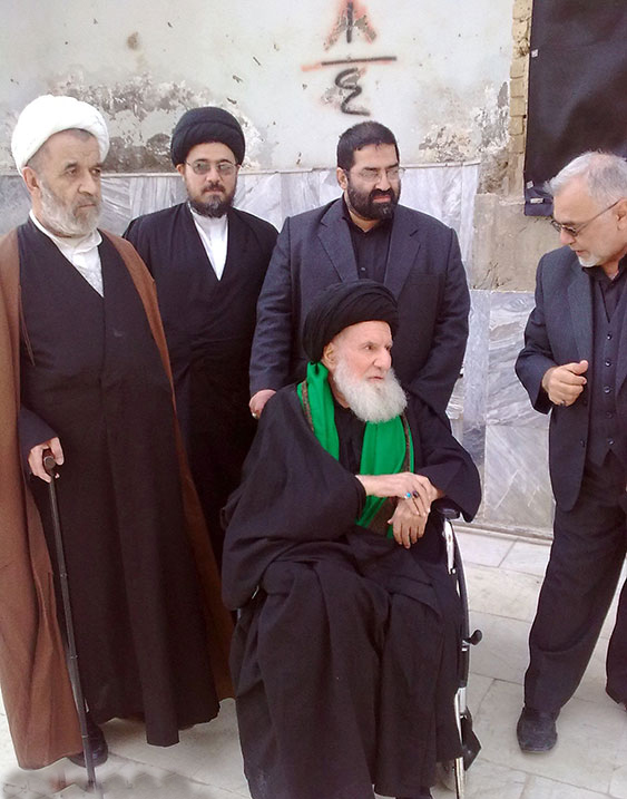 Ayatollah Qomi in Iraq