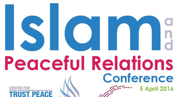 Islam and peaceful relations conference