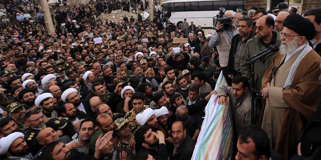 Non Muslim Perspective On The Revolution Of Imam Hussain: Ayatollah Khamenei Visits Quake-Hit Border Province+Pics