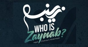 New Book Release: Who Is Zaynab? +PDF