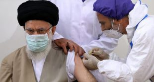 Video: Ayatollah Khamenei Received the First Dose of the Iranian Covid Vaccine