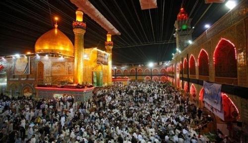 Maula Ali Shrine Wallpaper: Four Million Pilgrims Visit Imam Ali's Shrine In Iraq
