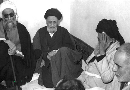 Left: A.Sayyed AbulQasim Kashani. Right: A. Sayyed Muhammad Behbahani(may their souls rest in peace)