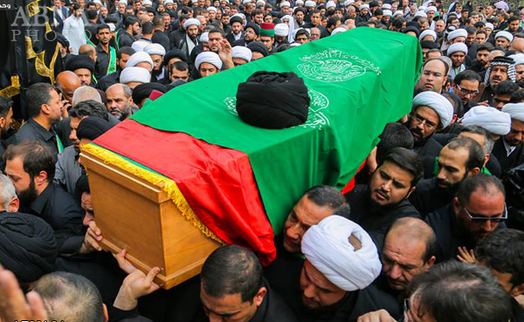 His Funeral Ritual in Najaf